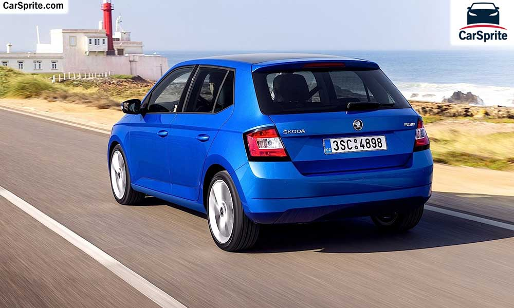 skoda fabia 2017 prices and specifications in oman car sprite. Black Bedroom Furniture Sets. Home Design Ideas