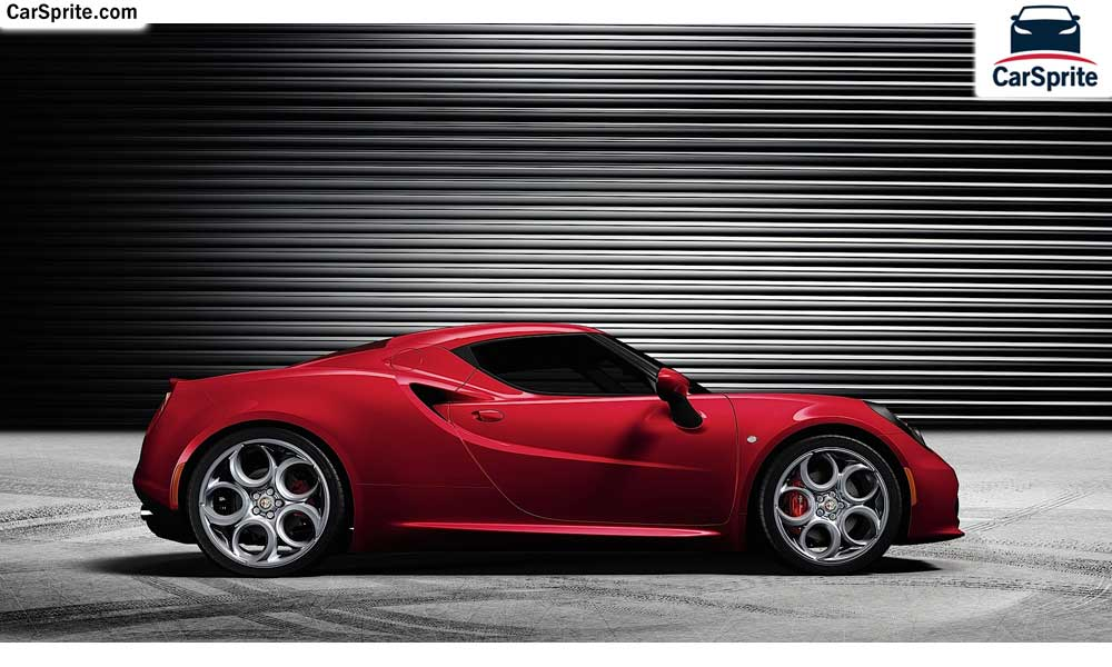 Alfa Romeo 4C 2017 prices and specifications in Oman | Car Sprite