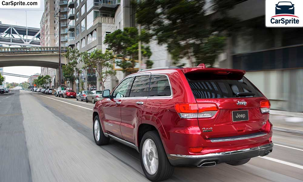Jeep Grand Cherokee 2017 prices and specifications in Oman ...