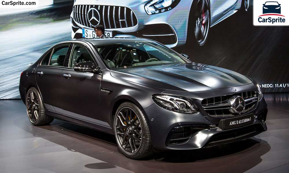 Mercedes Benz E 63 AMG 2018 prices and specifications in ...