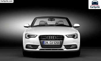 Audi A5 Cabriolet 2017 prices and specifications in Oman | Car Sprite