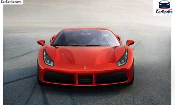 Ferrari 488 GTB 2018 prices and specifications in Oman | Car Sprite