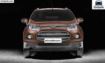 Ford EcoSport 2018 prices and specifications in Oman | Car Sprite
