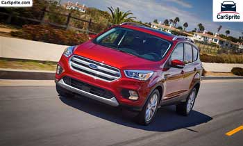 Ford Escape 2018 prices and specifications in Oman | Car Sprite