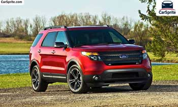 Ford Explorer 2018 prices and specifications in Oman | Car Sprite