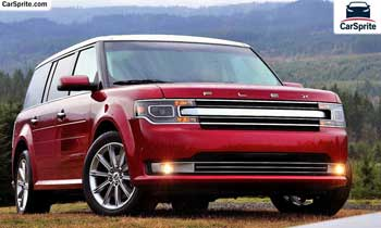 Ford Flex 2018 prices and specifications in Oman | Car Sprite