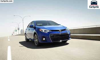 Toyota Corolla 2017 prices and specifications in Oman | Car Sprite