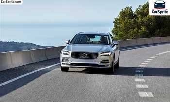 Volvo V90 2018 prices and specifications in Oman | Car Sprite